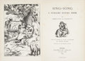Books:Literature Pre-1900, Christina G. Rossetti. Sing-Song. A Nursery Rhyme Book. London: Macmillan and Co., 1893....