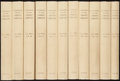 Books:Reference & Bibliography, [Books about Books]. Thomas J. Wise, editor. The AshleyLibrary. A Catalogue of Printed Books, Manuscripts andAut... (Total: 11 Items)