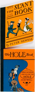 Books:Children's Books, Peter Newell. The Hole Book. [together with:] The SlantBook. Rutland: Charles E. Tuttle Co., [1986 and ... (Total: 2Items)