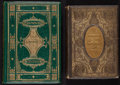 Books:Literature Pre-1900, [Decorative Publisher Bindings]. Pair of Elaborately BoundVictorian Works.... (Total: 2 Items)