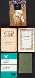 Books:Biography & Memoir, [William Morris]. Group of Five Titles on the Life and Letters ofWilliam Morris.... (Total: 5 Items)