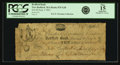 Obsoletes By State:Massachusetts, New Bedford, MA - Bedford Bank $10 Sept. 6, 1803 MA-875 G20. PCGSFine 15 Apparent.. ...