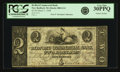 Obsoletes By State:Massachusetts, New Bedford, MA - Bedford Commercial Bank $2 March 1, 1848 MA-880G14. PCGS Very Fine 30PPQ.. ...