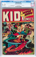 Golden Age (1938-1955):Superhero, Kid Komics #3 (Timely, 1943) CGC FN 6.0 Light tan to off-white pages....