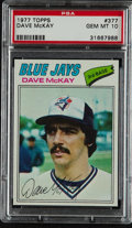 Baseball Cards:Singles (1970-Now), 1977 Topps Dave McKay #377 PSA Gem Mint 10....