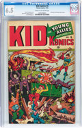 Golden Age (1938-1955):War, Kid Komics #6 (Timely, 1944) CGC FN+ 6.5 Cream to off-white pages....