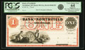 Obsoletes By State:Minnesota, Northfield, MN - Bank of Northfield $1 18__ MN-98 G2, HewittB440-D1. Proof. PCGS Very Choice New 64 Apparent.. ...
