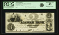 Obsoletes By State:Massachusetts, Springfield, MA - Agawam Bank $3 18__ MA-1165 G6 SENC. Proof. PCGS Extremely Fine 45.. ...