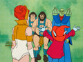 Animation Art:Production Cel, He-Man and the Masters of the Universe Teela, Orko, andEnemies Production Cel Setup and Animation Drawing Group (Film...(Total: 8 Items)