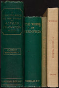 Books:Reference & Bibliography, [Alfred Lord Tennyson]. D. Barron Brightwell. A Concordance ofthe Entire Works of Alfred Tennyson. London: E. Moxon...(Total: 4 Items)