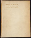 Books:Literature Pre-1900, [Alfred Lord Tennyson]. Joseph Pennell, preface. W. Holman Hunt,introduction. Some Poems by Alfred Lord Tennyson with I...