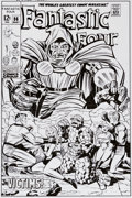 Original Comic Art:Covers, Bruce McCorkindale Fantastic Four #86 Cover RecreationOriginal Art (2013)....