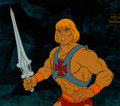 Animation Art:Production Cel, He-Man and the Masters of the Universe Production Cel(Filmation, 1984).... (Total: 3 Items)