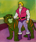 Animation Art:Production Cel, He-Man and the Masters of the Universe Prince Adam andCringer Production Cel Setup (Filmation, 1983).... (Total: 5 Items)