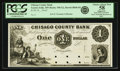 Obsoletes By State:Minnesota, Taylors Falls, MN - Chisago County Bank $1 18__ MN-190 G2, HewittB840-D1. Proof. PCGS Choice About New 58 Apparent.. ...