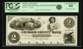 Obsoletes By State:Minnesota, Taylors Falls, MN - Chisago County Bank $2 18__ MN-190 G4, HewittB840-D2. Proof. PCGS Very Choice New 64.. ...