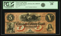 Obsoletes By State:Minnesota, Taylors Falls, MN - Chisago County Bank $5 March 9, 1859 MN-190G6a, Hewitt B840-D5. PCGS Very Fine 20.. ...