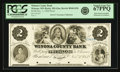 Obsoletes By State:Minnesota, Winona, MN - Winona County Bank $2 Nov. 1, 1858 MN-205 G6a, HewittB940-D2b. Proof. PCGS Superb Gem New 67 PPQ.. ...