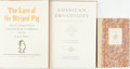 Books:Americana & American History, [American History]. Trio of SIGNED/LIMITED Titles. Imprint Society,[various dates]. Limited to 1950 copies. Signed by the... (Total: 3Items)
