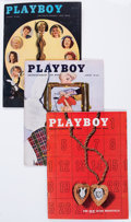 Magazines:Miscellaneous, Playboy 1956 and 1957 Complete Years Group (1956-57). Condition:Average FN/VF. ... (Total: 24 Items)