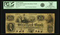Obsoletes By State:New Hampshire, Dover, NH - Strafford Bank (2nd) $10 June 2, 1851 NH-75 G60. PCGS Very Fine 20 Apparent.. ...