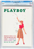 Magazines:Vintage, Playboy V6#10 (HMH Publishing, 1959) CGC VF 8.0 White pages....