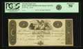 Obsoletes By State:New Hampshire, Keene, NH - Cheshire Bank (1st) $5 18__ NH-145 G70. Proof. PCGS About New 50.. ...