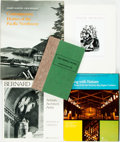 Books:Art & Architecture, [Biography/Art & Architecture/Gardening]. Group of Five Titles. Various publishers and dates. ... (Total: 5 Items)