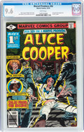 Bronze Age (1970-1979):Horror, Marvel Premiere #50 Alice Cooper (Marvel, 1979) CGC NM+ 9.6 Whitepages....