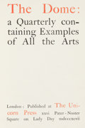 Books:Periodicals, The Dome: a Quarterly containing Examples of All the Arts....
