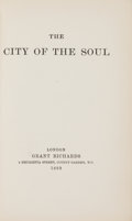 Books:Literature Pre-1900, [Lord Alfred Douglas]. The City of the Soul....
