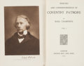 Books:Biography & Memoir, [Coventry Patmore]. Basil Champneys. Memoirs and Correspondenceof Coventry Patmore.... (Total: 2 Items)