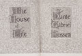 Books:Literature 1900-up, Dante Gabriel Rossetti. LIMITED. The House of Life. New York: Elston Press, 1901....