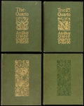 Books:Periodicals, [Illustrated Periodical] The Quarto. An Artistic, Literary &Musical Quarterly. London: J. S. Virtue, [1896, 1897, 1...(Total: 4 Items)