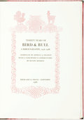 Books:Reference & Bibliography, Howell J. Heaney, editor. LIMITED. Thirty Years of Bird &Bull. A Bibliography, 1958-1988. Newtown: Bird &Bull ...
