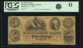 Obsoletes By State:New York, Brooklyn, NY - Mechanics Bank $3 Nov. 17, 1854 NY-335 G6 SENC. PCGS Fine 12.. ...