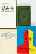 Books:Books about Books, [Books about Books]. Group of Four. Various publishers and dates.... (Total: 4 Items)