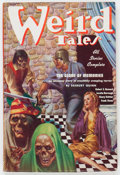 Pulps:Horror, Weird Tales - February '37 (Popular Fiction, 1937) Condition:VG+....