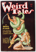 Pulps:Horror, Weird Tales - August '34 (Popular Fiction, 1934) Condition: FN-....