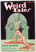 Pulps:Horror, Weird Tales - June '33 (Popular Fiction, 1933) Condition: VG/FN....
