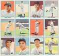 "Baseball Cards:Singles (1940-1949), 1941 Play Ball ""Paper Version"" Uncut Sheet of Twelve Cards (#'s1-12). ..."