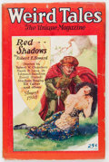 Pulps:Horror, Weird Tales - August '28 (Popular Fiction, 1928) Condition: GD....
