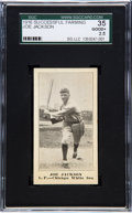 Baseball Cards:Singles (Pre-1930), Very Rare 1916 Successful Farming Joe Jackson Salesmen Sample SGC35 Good+ 2.5 - Only Two Graded Examples! ...