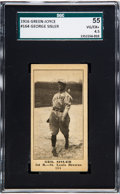 Baseball Cards:Singles (Pre-1930), 1916 M101-4 Green-Joyce George Sisler #164 SGC 55 VG/EX+ 4.5 - TheOnly SGC Example! ...