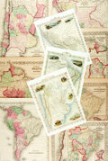Books:Maps & Atlases, [Maps]. Group of Ten Maps Depicting South America. Various publishers and dates. ...