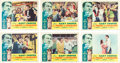 "Baseball Collectibles:Others, 1949 ""The Pride of the Yankees"" Lobby Cards Lot of 6. ..."