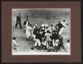 Baseball Collectibles:Photos, 1951 Bobby Thomson and Ralph Branca Multi Signed Original PressPhotograph....