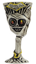 Memorabilia:Movie-Related, Scooby-Doo! The Movie Cast member/Crew Spooky Island TikiGhost Goblet (Warner Brothers, 2002)....
