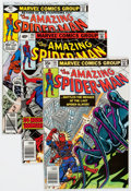 Modern Age (1980-Present):Superhero, The Amazing Spider-Man Box Lot (Marvel, 1979-98) Condition: NM-....