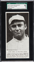 Baseball Cards:Singles (Pre-1930), 1916 D381 Ferguson Bakery Duffy Lewis, With Rare Coupon SGC 40 VG 3- One of Only Three Plus Photo. ...